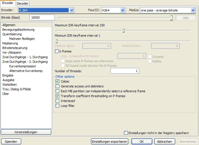 HD Videos im H 264 Format erstellen – AquaSoft Wiki